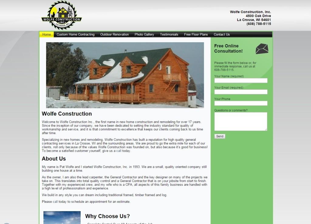 wolfeconstructionwebsite